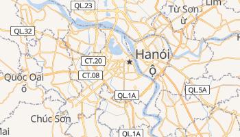 Mapa online de Hanoi