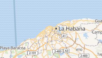 Mapa online de La Habana