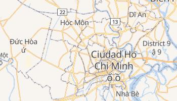 Mapa online de Ciudad Ho Chi Minh