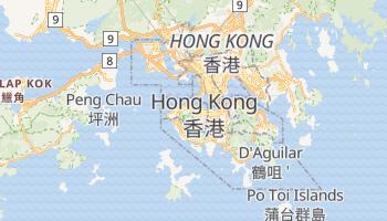 Mapa online de Hong Kong