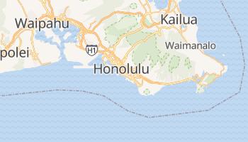 Mapa online de Honolulu