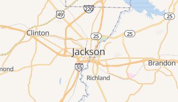 Mapa online de Jackson
