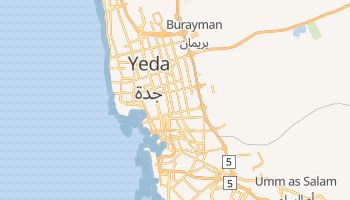 Mapa online de Jedda
