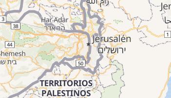 Mapa online de Jerusalén