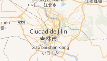 Mapa online de Jilin