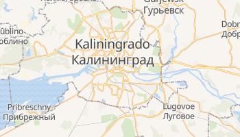 Mapa online de Kaliningrado