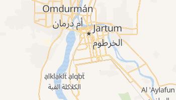 Mapa online de Jartum