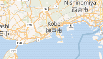 Mapa online de Kōbe