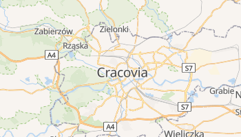Mapa online de Cracovia