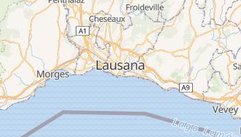 Mapa online de Lausana