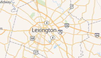 Mapa online de Lexington