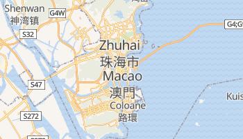 Mapa online de Macao