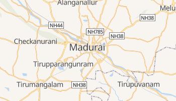 Mapa online de Madurai