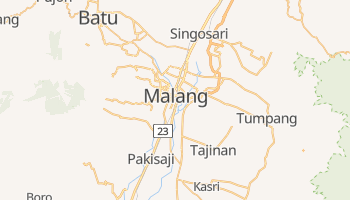 Mapa online de Malang
