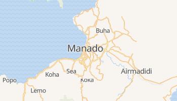 Mapa online de Manado