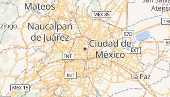 Mapa online de Ciudad de México