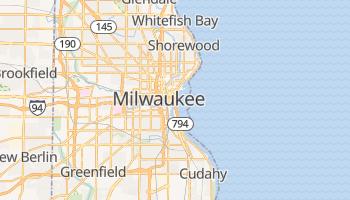 Mapa online de Milwaukee