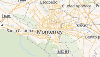 Mapa online de Monterrey
