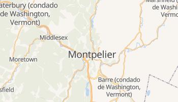 Mapa online de Montpelier