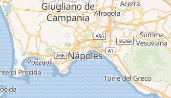 Mapa online de Nápoles