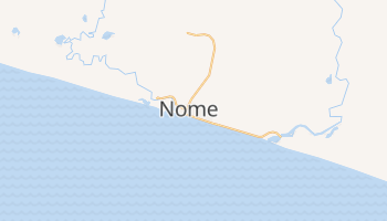 Mapa online de Nome