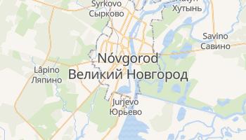 Mapa online de Nóvgorod