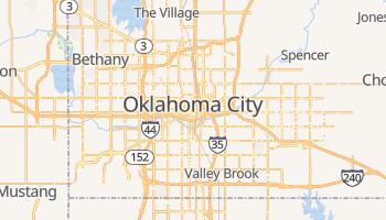 Mapa online de Oklahoma City