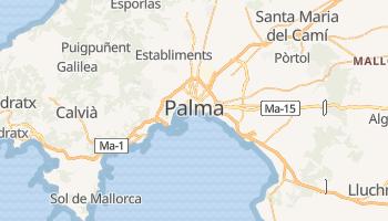 Mapa online de Palma de Mallorca
