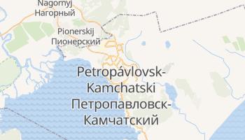 Mapa online de Petropavlovsk de Kamchatka