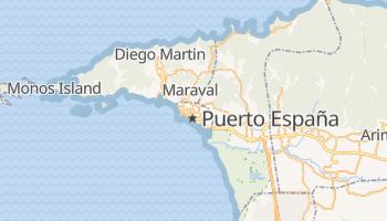 Mapa online de Puerto España