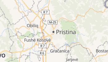Mapa online de Priština