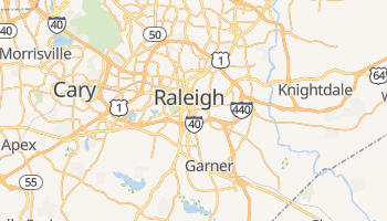 Mapa online de Raleigh