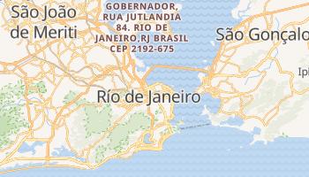 Mapa online de Río de Janeiro