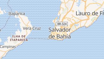 Mapa online de Salvador