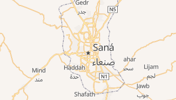 Mapa online de Saná