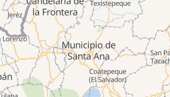 Mapa online de Santa Ana