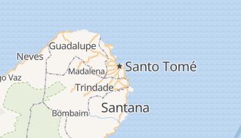 Mapa online de Santo Tomé