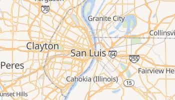 Mapa online de Saint Louis