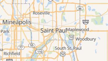 Mapa online de St. Paul