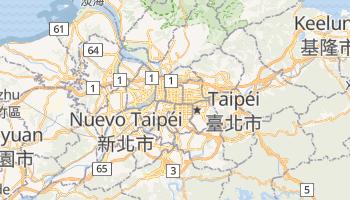 Mapa online de Taipéi