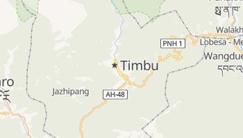 Mapa online de Thimphu