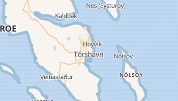 Mapa online de Tórshavn