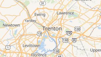 Mapa online de Trenton