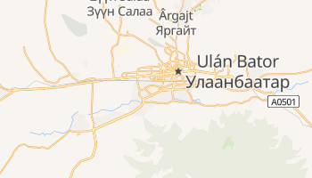 Mapa online de Ulán Bator