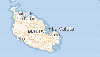 Mapa online de Valletta