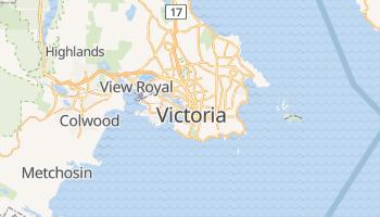 Mapa online de Victoria (Canada)