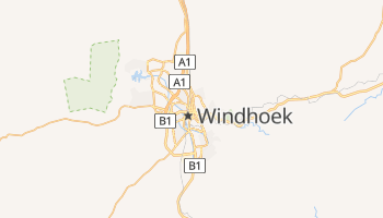 Mapa online de Windhoek