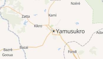 Mapa online de Yamoussoukro