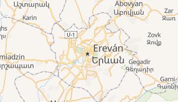Mapa online de Ereván