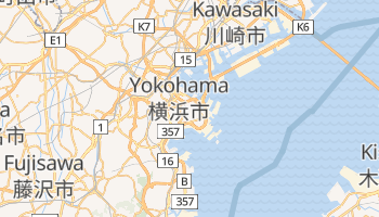 Mapa online de Yokohama